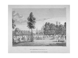Army Encampment in St James's Park, Westminster, London, 1780 Giclee Print by James Fittler