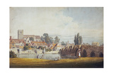 Aylesford, Near Maidstone, Kent, 19th Century Giclee Print by James Duffield Harding