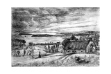 L'Ile Aux Moins, C1900-1950 Giclee Print by Jean Frelaut