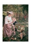 Summer, C1889-1890 Giclee Print by Ivana Kobilca