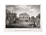 Clerkenwell Green, Finsbury, London, 1796 Giclee Print by James Walker