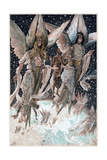 Soul of the Penitent Thief Carried into Paradise by Angels with Burning Censers, 1897 Giclee Print by James Jacques Joseph Tissot