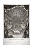 Wedding of Anne, Princess Royal, and William IV of Orange, St James's Palace, London, 1733 Giclee Print by Jacques Rigaud