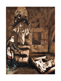 Jesus Raising Lazarus from the Tomb, 1897 Giclee Print by James Jacques Joseph Tissot
