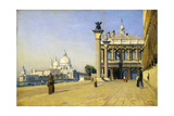 Morning in Venice, 1834 Giclee Print by Jean-Baptiste-Camille Corot
