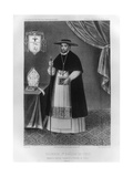 Vincente De Valverde, First Bishop of Cuzco Giclee Print by Jacques Francois Gauderique Llanta