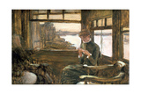 The Departure, 19th-Early 20th Century Giclee Print by James Jacques Joseph Tissot