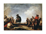 After a Battle, 17th Century Giclee Print by Jacques Courtois