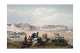 British Army under Canvas at Roree on the Indus, First Anglo-Afghan War, 1838-1842 Giclee Print by James Atkinson