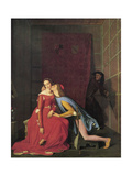 Paolo and Francesca, 1819 Giclee Print by Jean-Auguste-Dominique Ingres