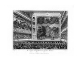The Royal Family at Covent Garden Theatre, London, 1804 Giclee Print by James Fittler