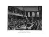 The House of Commons, London, 1804 Giclee Print by James Fittler