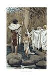 Baptism of Jesus by John the Baptist, C1890 Giclee Print by James Jacques Joseph Tissot