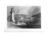 Whitehaven Harbour, Cumbria, 1886 Giclee Print by JC Armytage