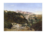 Volterra, 1834 Giclee Print by Jean-Baptiste-Camille Corot