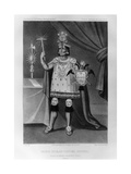 Inca Prince, National Costume, 1852 Giclee Print by Jacques Francois Gauderique Llanta