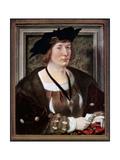 Portrait of Hendrik III, Count of Nassau-Breda, C1516-1517 Giclee Print by Jan Gossaert