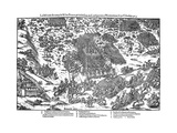 Battle of Montcontour, French Religious Wars, October 1569 Giclee Print by Jacques Tortorel
