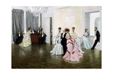 Too Early, 1873 Giclee Print by James Jacques Joseph Tissot