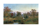 Hastings-On-Hudson, 1885 Giclee Print by Jasper Francis Cropsey