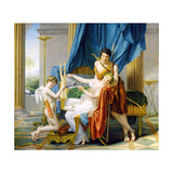 Sappho, Phaon and Cupid, 1809 Giclee Print by Jacques-Louis David