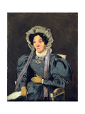 Madame Corot, Mother of The Giclee Print by Jean-Baptiste-Camille Corot