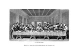 The Last Supper, 1843 Giclee Print by J Jackson