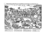 Siege of Poitiers, French Religious Wars, 24 July-7 September 1569 Giclee Print by Jacques Tortorel