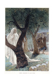Christ Appearing to St Peter, C1890 Giclee Print by James Jacques Joseph Tissot