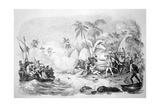 Death of Captain Cook, 1779 Giclee Print by Jacques Etienne Victor Arago