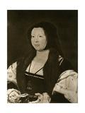 Anne, Marquise De Veere, Wife of Adolphe De Bourgogne Giclee Print by Jan Gossaert