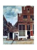 The Little Street, C1658 Giclée-tryk af Jan Vermeer
