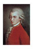 Wolfgang Amadeus Mozart, Austrian Composer, C1780 Giclee Print by Johann Nepomuk della Croce