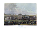 Ascot Heath Races Giclee Print by James Pollard