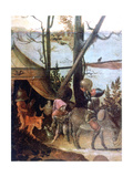 Landscape Scene, Legend of Saint Christopher, C1520-1559 Giclee Print by Jan Mandyn
