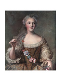 Madame Sophie, Daughter of Louis XV, 1909 Giclee Print by Jean-Marc Nattier