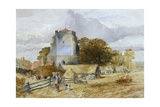 Westham Church, Pevensey, East Sussex, 1851-1859 Giclee Print by John Gilbert