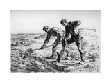 Diggers, C1835-1875 Giclee Print by Jean Francois Millet