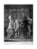 Miss Macaroni and Her Gallant at a Print Shop, 1773 Giclee Print by John Raphael Smith