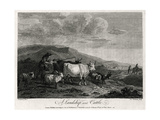 A Landskip and Cattle, 1774 Giclee Print by James Roberts