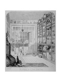 Interior View of Charles Roach Smith's Museum in Liverpool Street, City of London, 1850 Giclee Print by John Brown