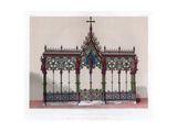 The Hereford Screen, 19th Century Giclee Print by John Burley Waring