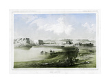 Fort Benton, Montana, USA, 1856 Giclee Print by John Mix Stanley