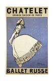 Tamara Karsavina, Russian Ballet Dancer, 1911 Giclee Print by Jean Cocteau
