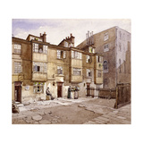 Paul's Alley, Australia Avenue, London, 1887 Giclee Print by John Crowther