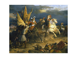 The Battle of Villa Viciosa, 11 December 1710 Giclee Print by Jean Alaux