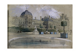 The Tuileries, Paris, France, 1846 Giclee Print by John Gilbert