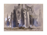 Melrose Abbey, 1845 Giclee Print by John Gilbert