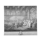 Henry III Renewing and Confirming the Magna Carta, Westminster Hall, London, 13th Century Giclee Print by John Miller