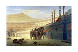 Hail Caesar! We Who are About to Die Salute You, 19th Century Giclee Print by Jean-Leon Gerome